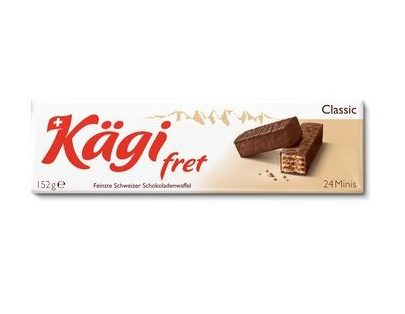 Kägi fret Mini Classic Chocolate Wafers - 152 g