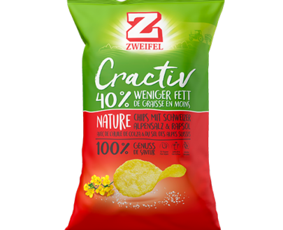 Zweifel Cractiv Nature Chips - 160 g