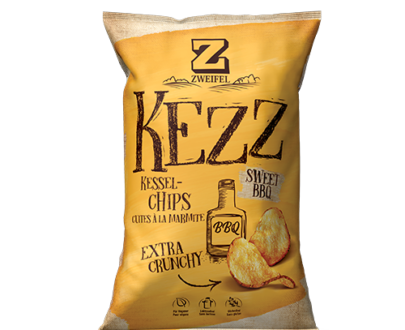Zweifel Kezz Sweet Barbecue Crunchy Chips - 110 g