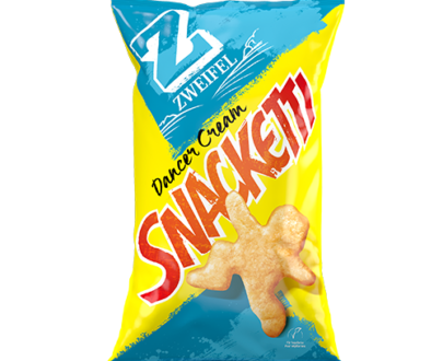 Zweifel Snacketti Dancer Cream Chips - 75 g