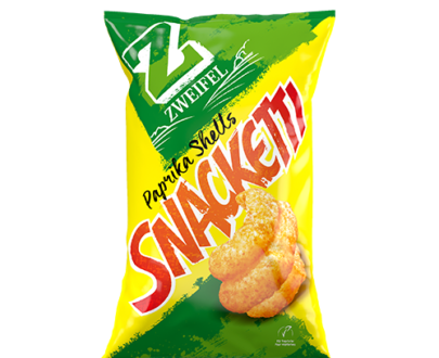 Zweifel Snacketti Paprika Shell Chips - 75 g
