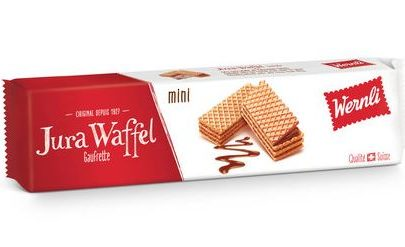 Wernli Mini Jura Wafers - 130 g