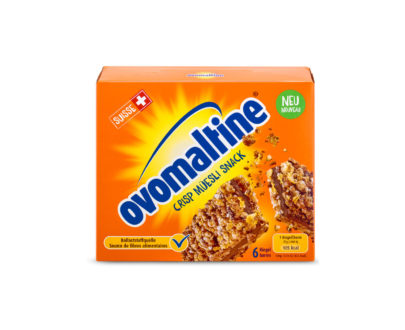 Ovomaltine Crisp Muesli Snack Bars 6 Pieces - 150 g