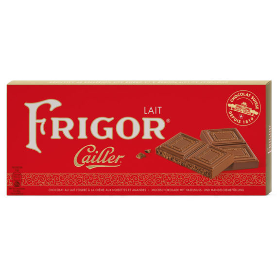 Cailler Frigor Milk Chocolate Bar - 100g