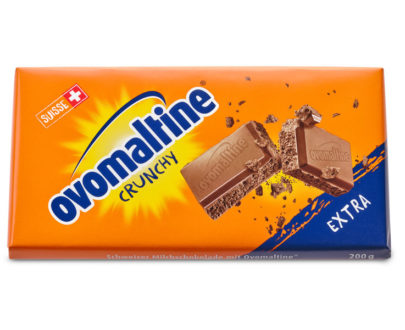 Ovomaltine Extra Milk Chocolate Bar - 200g