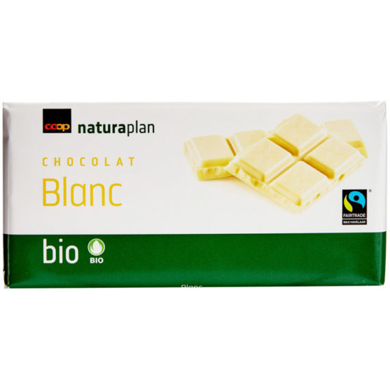 Naturaplan Organic White Chocolate Bar - 100g