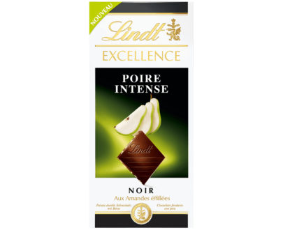 Lindt Excellence Intense Pear Chocolate Bar - 100g