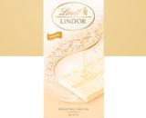 Lindt Lindor White Chocolate Bar with a Melting Filling - 100g